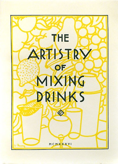 The Artistry of Mixing Drinks